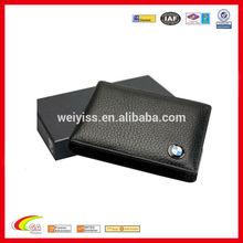 leather BMW credit card holder wallet black color , card holder wallet china manufacturers & suppliers
