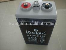 Long Life Tubular Plate Solar Power Storage Battery OPZS battery 2V 250AH
