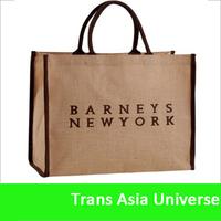Hot Sell Eco Friendly reusable burlap shopping bags