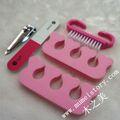 Venta al por mayor de moda kit de pedicura/esmalte de uñas conjuntos/accesorios de manicura
