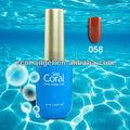Mar de Coral Soak Off Uv unhas de Gel