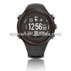 Alibaba express calorie counter heart rate monitor sport watch,3d pedometer,GPS sport watch