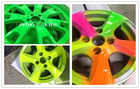 Colorful Rubber paint removable spray masking film for car rim