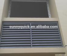 Fashionable aluminum shutter window