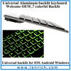 LBK144 bluetooth keyboard for asus memo pad hd 7 Universal backlit LED Illuminate bluetooth keyboard bluetooth wireless keyboard