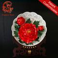 Chinesische nicht- Material kulturellen Erbes keramik handwerk platte blumen
