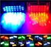Super Bright!!!Red Amber Blue 12V Police Vehicle LED Visor Strobe Flash Emergency Warning lights 12 volt LED dash warning lights