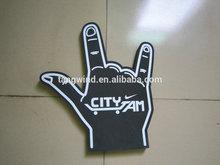 CY512 custom OEM giant eva foam hands / Finger