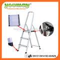 En131 escalera banco de trabajo con 1.0 mm de espesor y 3 pasos