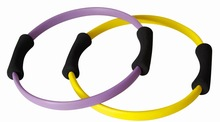 PIDEGREE Pilates Ring Resistance Power Dual Gripped Fitness Ring