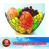 Chrome fruit display holder rack kitchen vegetable storage baskets holder metal fruit & vegetable rack CQ2033 Chuangqi