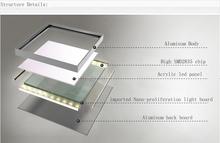 3300-3500ML 39w backlight led flat panel lighting 120x30