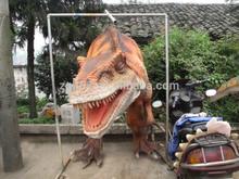 Hot sale popular Walking Life Size hand Dinosaur costume Puppet