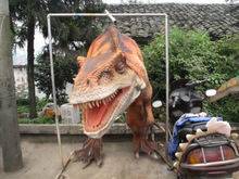 Hot sale popular Walking Life Size hand Dinosaur costume Puppet