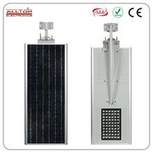 60w ip65 urban wind and solar powered led street light lamp casing