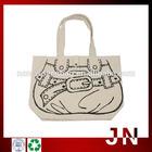 Canvas Foldable Shopping Bags, Canvas Designer Bag Shopping