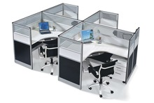Modern Office Cubicle Style Design For Sale