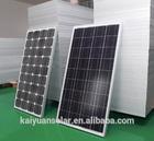 High quality 24v 200w mono solar panel