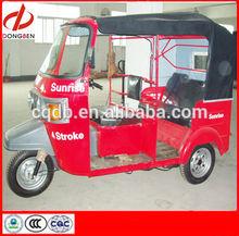 Gasoline India Bajaj Three Wheel Motorcycle For Taxi