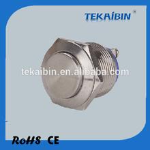 [TEKAIBIN] GQ19H-10/N IP65 IK09 Domed illuminated momentary push button switches