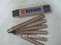 hendido normas 30 cm regla de madera plegable regla regla de plástico