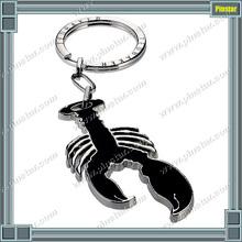 Ted Baker enamel black lobster keyring custom made animal keychain