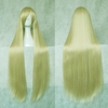 light yellow straight hair wig