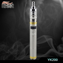Ibest YK200 mod 2200mah 3.0-6.0V variable voltage battery disposable electronic cigarette