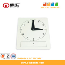 Wholesale Math Manipulative and Educational Materials of Time Learning Student Clock Face for Classroom