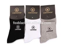 Wholesale converse men custom dress socks,cotton socks manufacturer
