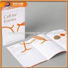 Slogans Printing Flyer Brochure,Customize Design Brochures