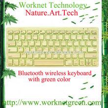 100% original fresh bamboo mini bluetooth wireless keyboard -Andy