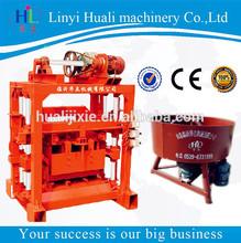 QT4-40 cement sand brick making machine for myanmar