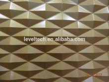 3D MDF Wave Panels Sculpture Wall Decorative Board
