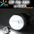 De alta qualidade à prova d ' água Toyota Corolla LED luz de nevoeiro, Auto luz de nevoeiro LED para corolla, Autopeças Toyota frente Fog Light substituição
