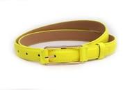 Children candy color fashion PU belt