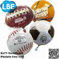 18 polegada vários tipos de esportes balão