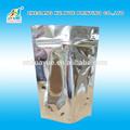 Duradero mini con cierre de aluminio ziplock bolsas, de aluminio ziplock bolsa
