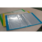 a4 20 pocket cardboard display book