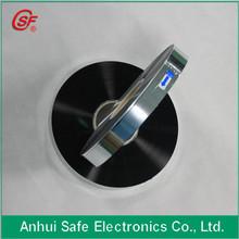 2014 capacitor film al zn alloy metallised bopp film for capacitor use 7um 35mm 2.5mm