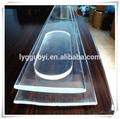 transparente de alta resistencia a la temperatura de la ventana redonda de vidrio pulido precio