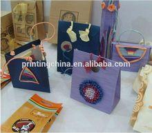 2014 rose reusable foldable shopping bag