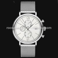 Rococo X1004 3 dial 6 pointer miyota OS60 quartz watch violet