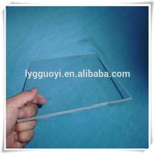 Claro alta resistencia a la temperatura de vidrio del laboratorio de oro-placa de pulido de precio
