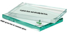 Produce 3.2mm,4mm Low Iron/Water clear /Ultra Clear Tempered Glass with Rough Pencil Edge for Solar Panle