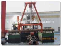 Small sand dredger ship with output 3500cbm