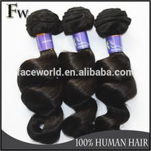 Faceworld hair 5A grade brazilian hair human,best selling brazilian hair