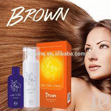 mix hair dye with shampoo/hair dye shampoo