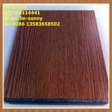 Wenge melamine particle board siding