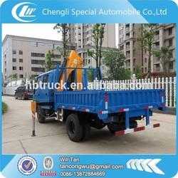 Manufacturer price telescopic boom truck mounted crane